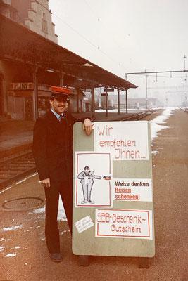 1983: Nach dem Welschlandjahr arbeitete ich über ein Jahr in Glarus...
