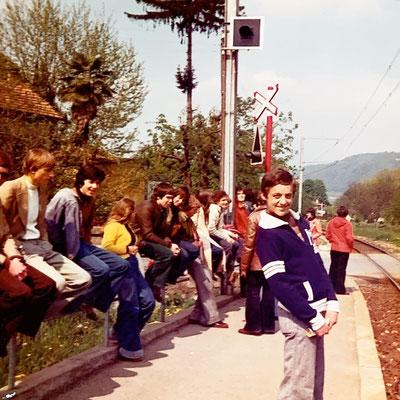 04/1976: Mein erster Arbeitstag bei den SBB im Lehrlingslager in Magliaso