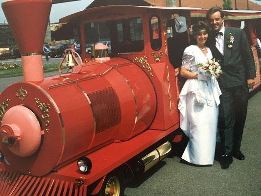 14.5.1988: Eine Hochzeit ohne Eisenbahn ist ein No-Go