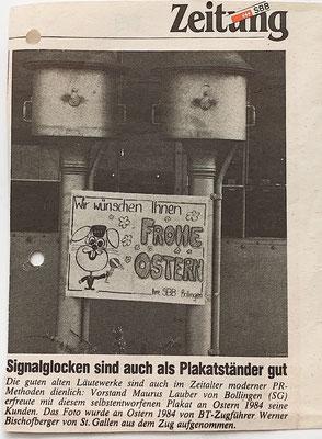 1984: Ich versuchte, dem Bahnhof meine Handschrift zu verleihen.