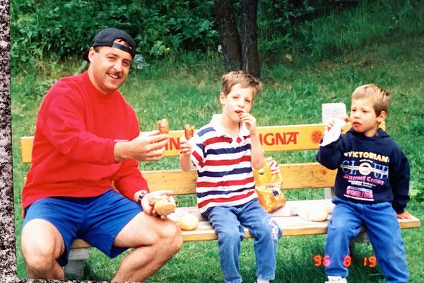 06/1996: Servelat-Brööötle in Arosa