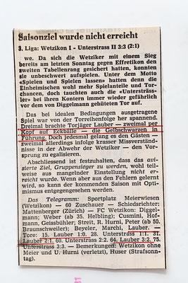 und der Zürich Oberländer berichtet