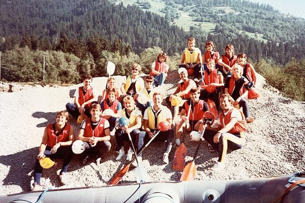 Für einmal darfs auch Riverrafting im Vorderrhein sein