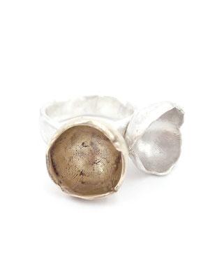"""Dora Des - Ring """"Chalices"""" - Silber, Bronze"""
