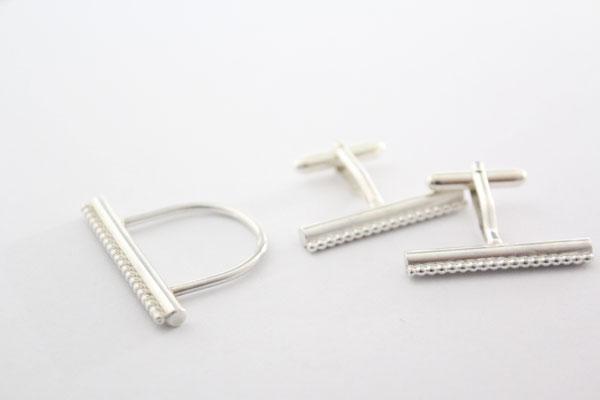 Heike Wanner - Schmuck für sie und ihn - Ringe und Manschettenknöpfe - Silber