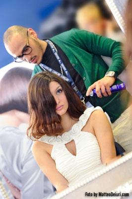 backstage Sanremo 2012