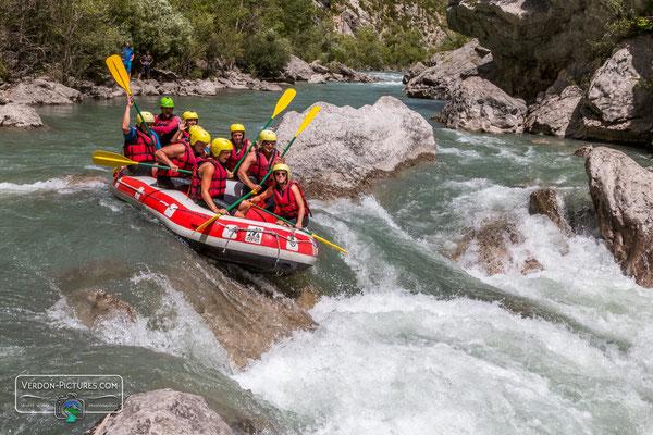 Rafting Verdon Gorge