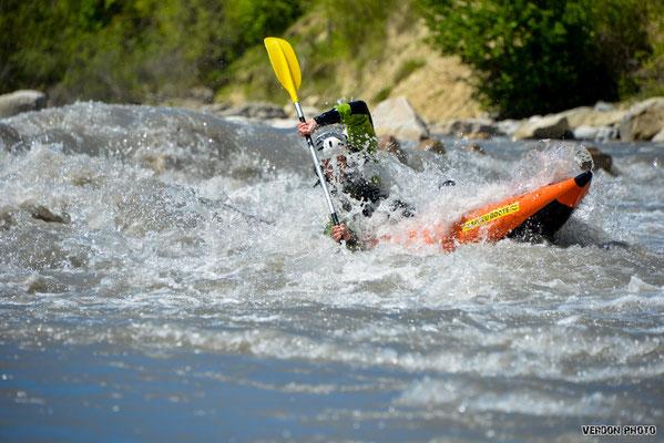 Airboat kayak Verdon