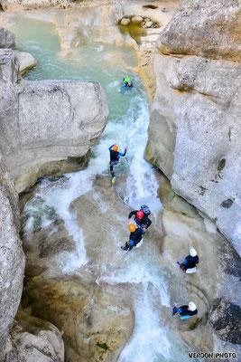 Canyoning Pré Alpes d'Azur