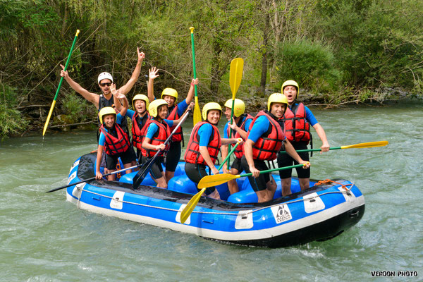 Rafting Castellane