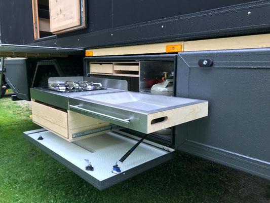 Camping Outdoorkitchen Zirbenbox 2