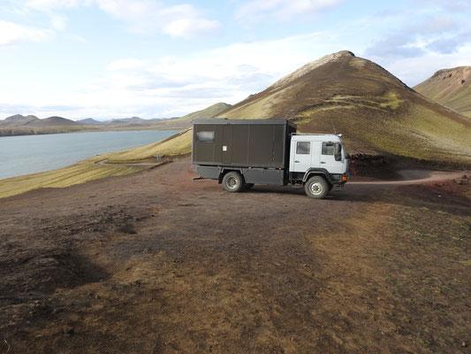 Zirbenbox auf Expedition durch Island