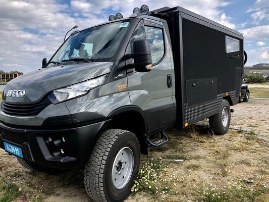 Weltreisemobil Zirbenbox 4x4 Iveco Daily