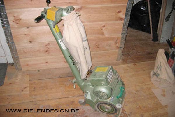 Lägler PROFIT Parkettschleifmaschine