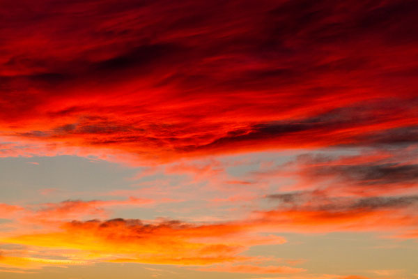 the fire sky