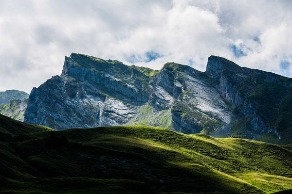 swiss mountain view II