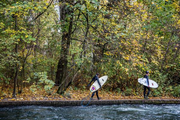 surfin' the ice-creek