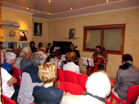 concert classique pour piano et Violoncelles, violon