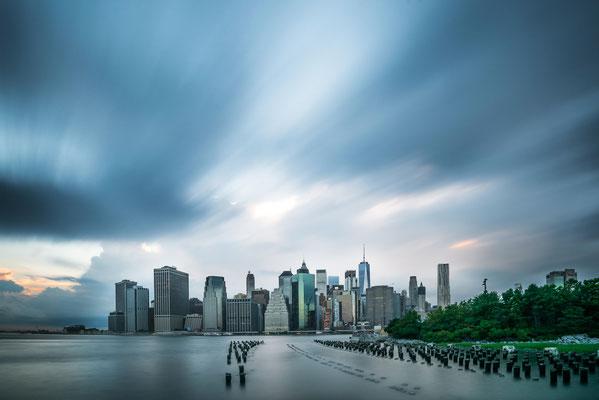 La Skyline vue depuis Brooklyn