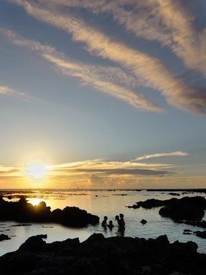Coucher de soleil- St Pierre