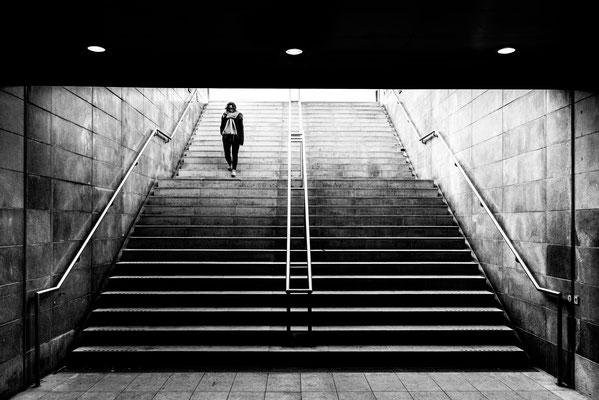 Entrée/sortie métro