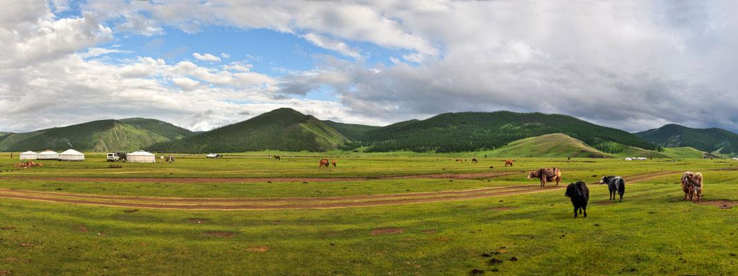 Vallée de l'Orkhon