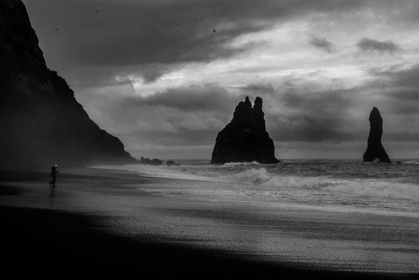 Plage de sable noir - Vik