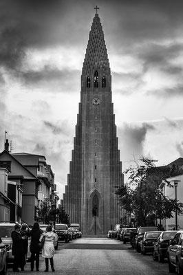 Eglise à Reykjavik