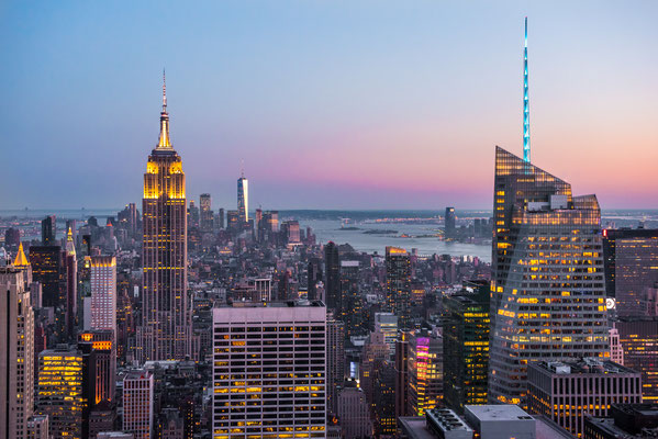 Manhattan depuis le Top of the Rock