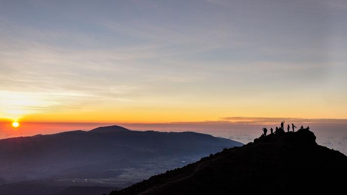 Vue depuis le sommet du Piton des Neiges