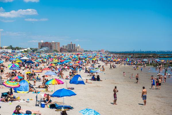Plage de Coney Island (Brooklyn)