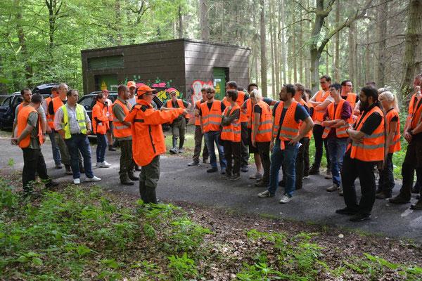 Unterrichtung im Wald: Was versteht man bei der BP unter Gehorsam?