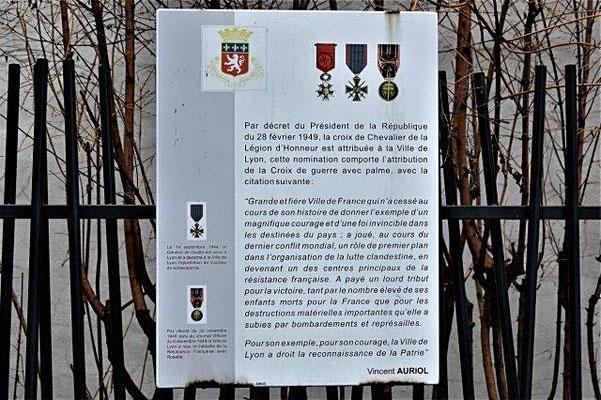 square de la Légion d'Honneur Lyon 6ème