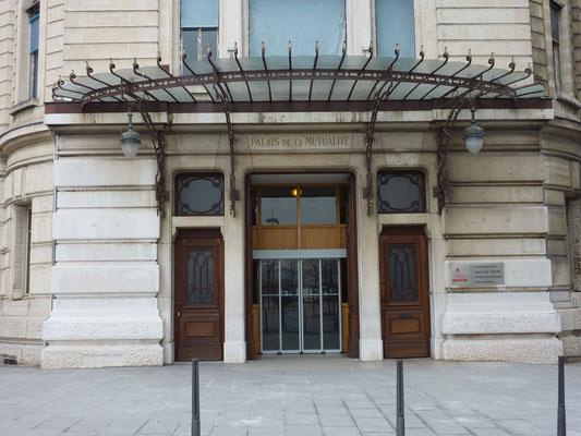1 place Antonin Jutard,  Palais de la Mutualité