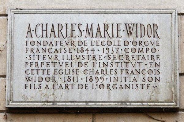 place Charles Marie Widor Lyon 2ème