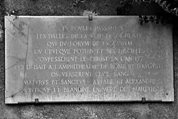 40 montée Saint Barthélemy Lyon 5ème