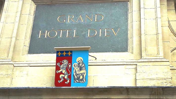 Hôtel-Dieu (place de l'Hôpital) Lyon 2ème