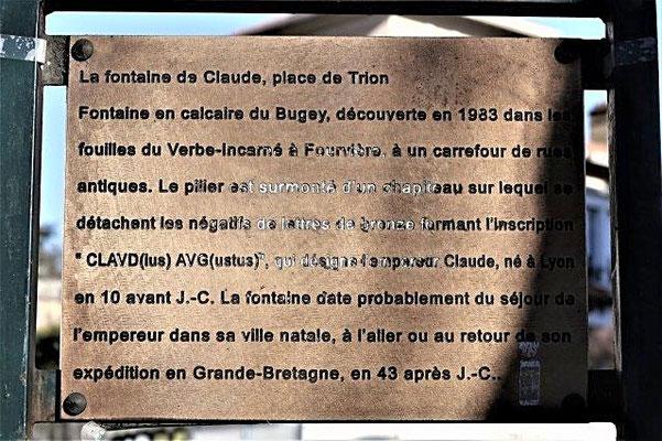 place de Trion Lyon 5ème
