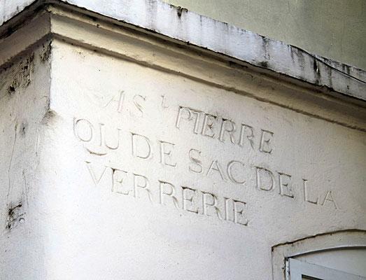 36 rue de l'Arbre Sec Lyon 1er (Qu de sac de la Verrerie)