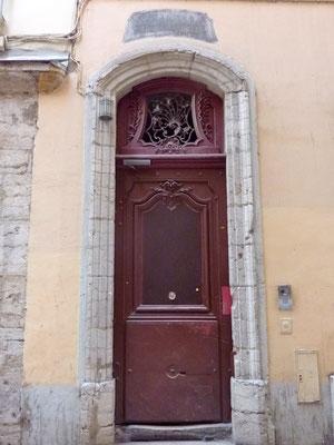 4 rue Sainte Marie des Terreaux (1er)
