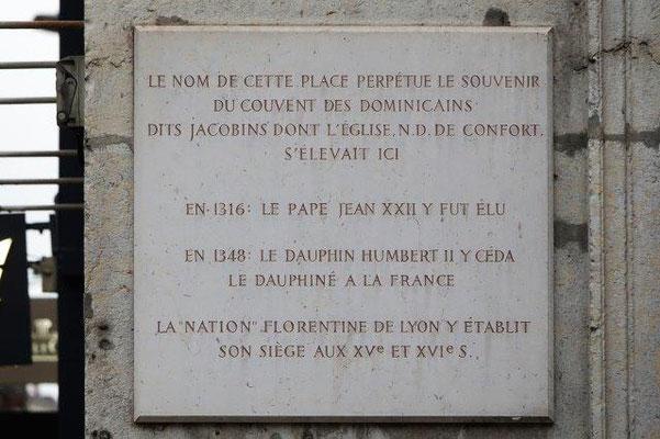 8 place des Jacobins Lyon 2ème