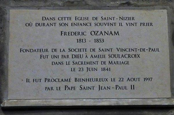 Eglise Saint Nizier Lyon 2ème