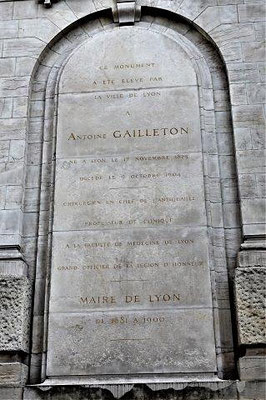 place Gailleton Lyon 2ème