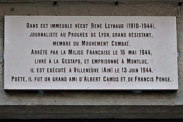 6 rue René Leynaud Lyon 1er