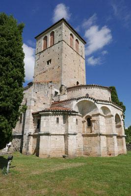 La basilique St-Just de Valcabrère : le chevet