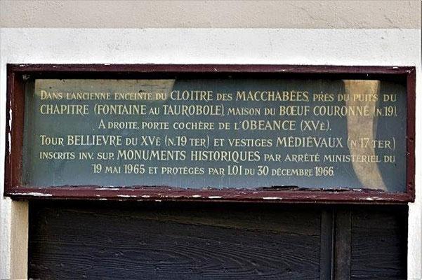19 rue des Macchabées Lyon 5ème