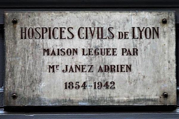 16 rue Pizay Lyon 1er