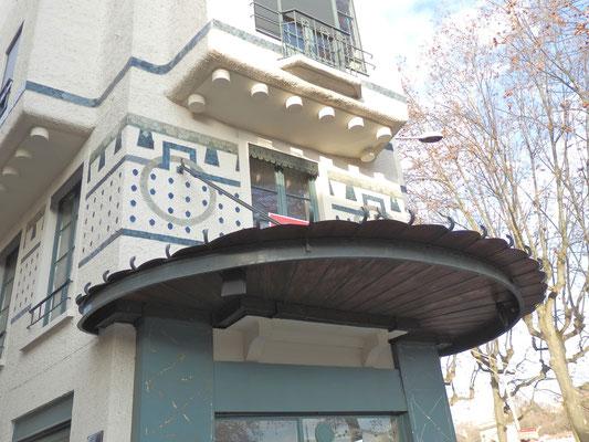 Immeuble Cateland (angle quai Jaÿr et rue de Saint Cyr 9e)