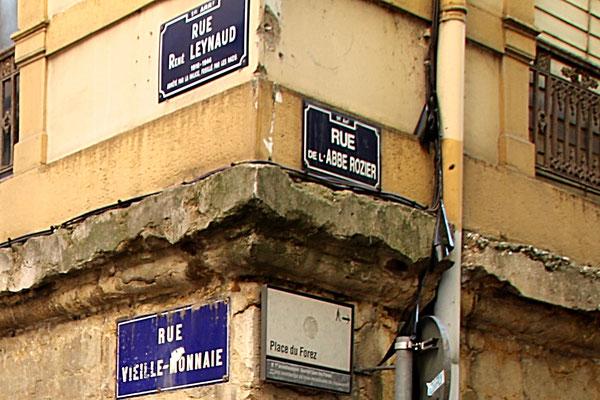 Rue René Leynaud (ancienne rue Vieille-Monnaie) Lyon 1er