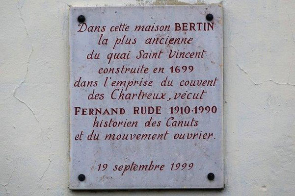 29 quai Saint Vincent Lyon 1er